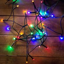 LED fényfüzér, multi, 180 LED, 14,5 méter KDL 185