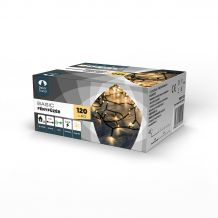 Dekortrend Basic 120 LED fényfüzér timer funkcióval, meleg fehér, 6 méter KDT 121