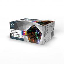 Dekortrend Basic 120 LED fényfüzér timer funkcióval, színes, 6 méter KDT 125