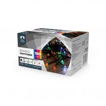 Dekortrend Kültéri LED Fényfüzér 180 db SZÍNES LED-del,  timer funkcióval KDT 185