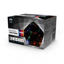 Dekortrend Kültéri LED Fényfüzér 240 db SZÍNES LED-del KDT 245