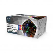 Dekortrend Kültéri LED Fényfüzér 360 db SZÍNES LED-del,  timer funkcióval KDT 365