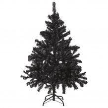 Wonder Black műfenyő - fekete karácsonyfa 210 cm KFA 391
