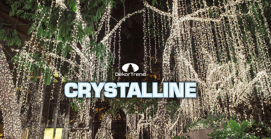 Bemutatkozik a Crystalline fényfüzér család