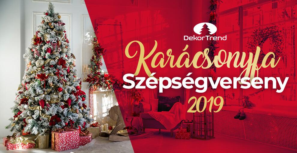 Karácsonyfa Szépségverseny 2019