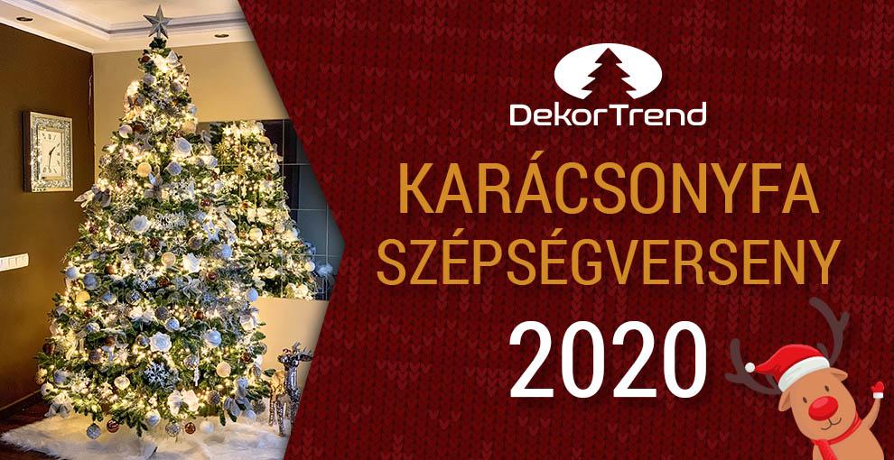 Karácsonyfa Szépségverseny 2020