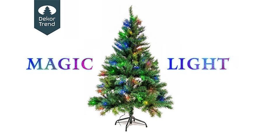 Magic Light – műfenyő 2-féle világítással