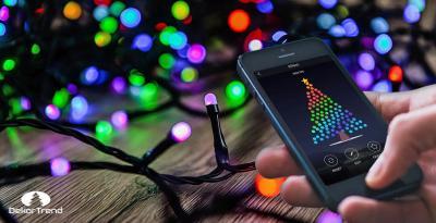 Okos karácsonyi fényfüzér elérhető áron