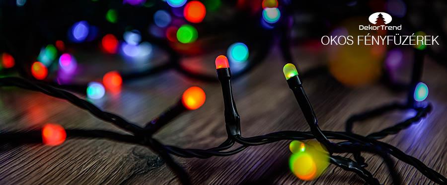 telefonos karácsonyi fények