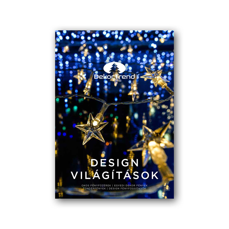 Design világítások brosúra