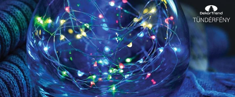 kültéri gömb fényfüzér